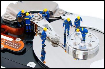 Восстановить данные на жестком диске